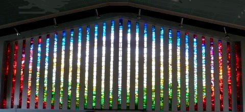 This was Bill's final Stained Glass Window